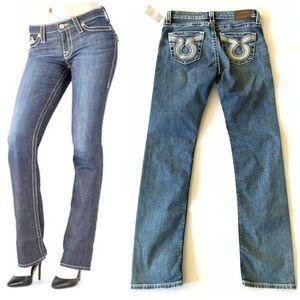 Big Star | Kate Straight Thick Stitch Jeans 27